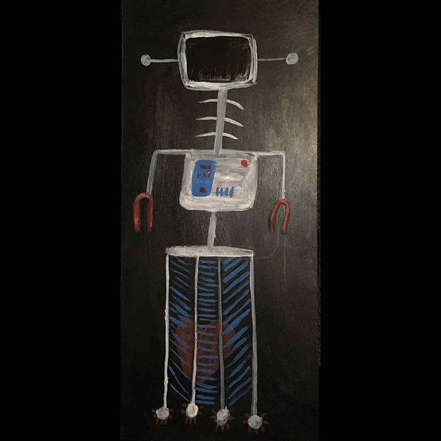 Protective (2019)  #art #artist #artistofinstagram #learn  #artsy #collab #mixedmedia #gallery #magazine  #picture #sketch  #robot #masterpiece  #streetart #draw #sketchbook #instaart #creative