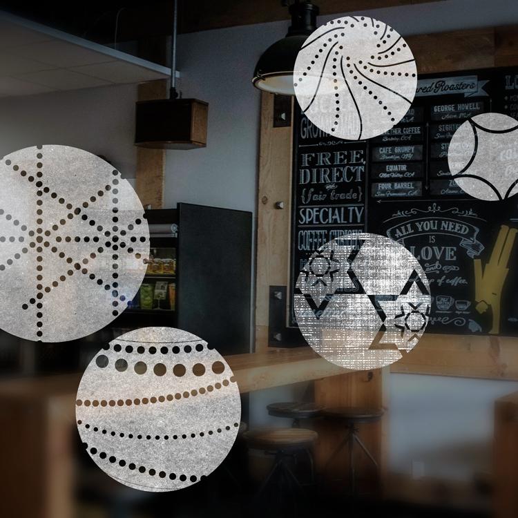 Coffee Shop Sticker Design