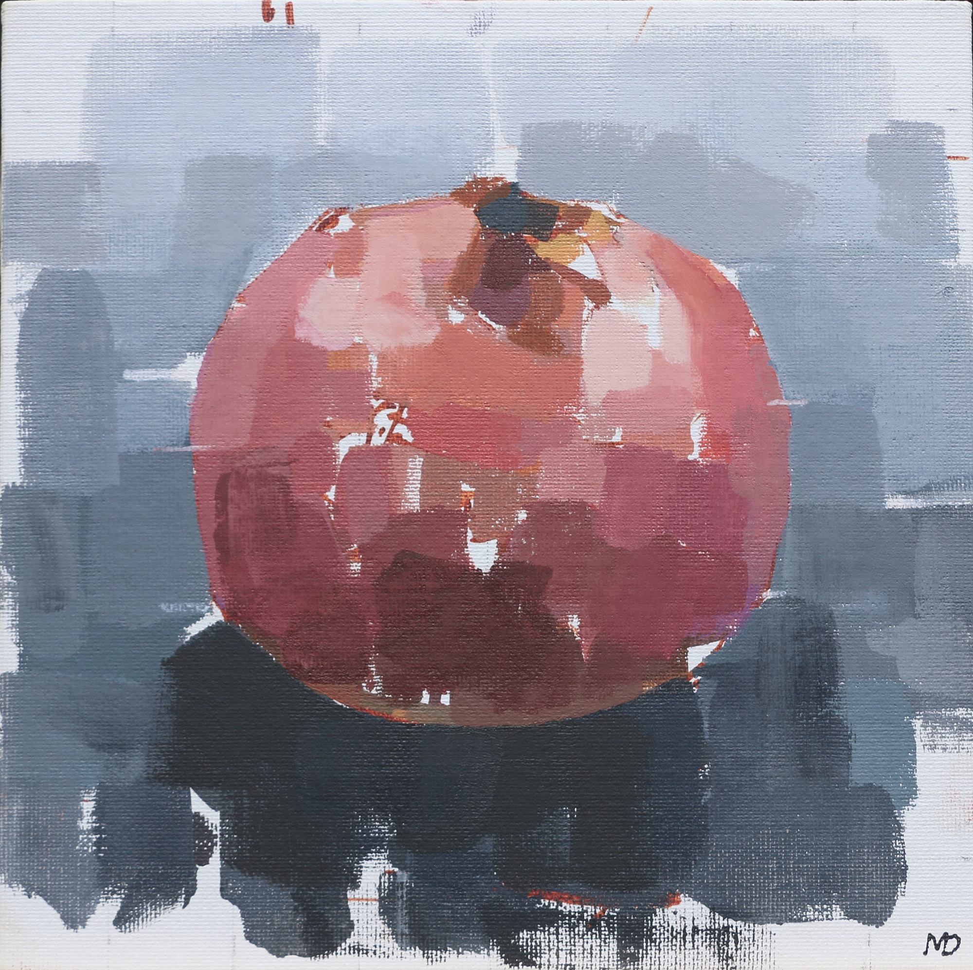 Pomegranate  Oil on Canvas  8 x 8 inches