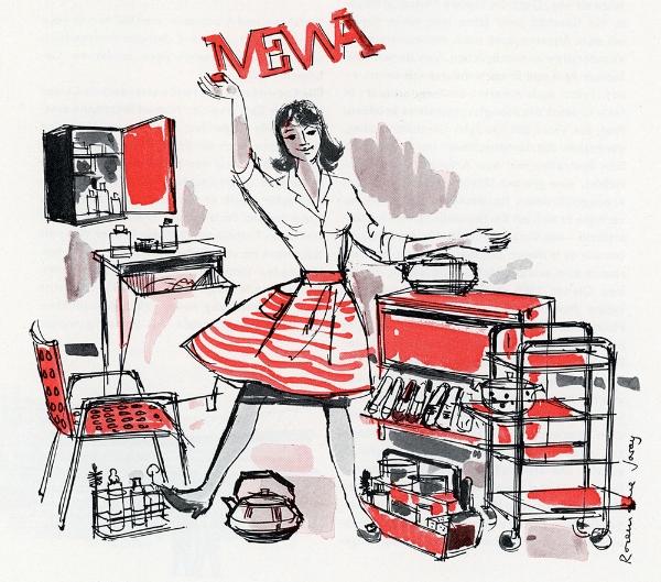 Werbung in den 1960er-Jahren: Die Grafikerin Rose-Marie Joray inszeniert das moderne Lebensgefühl des Wirtschaftswunders