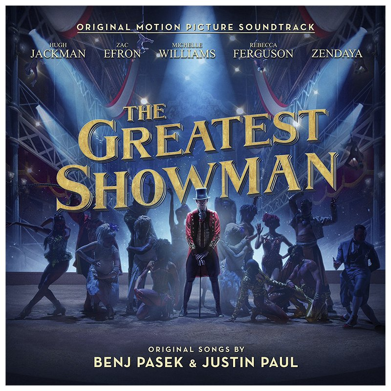 The Greatest Showman Official Motion Picture Soundtrack