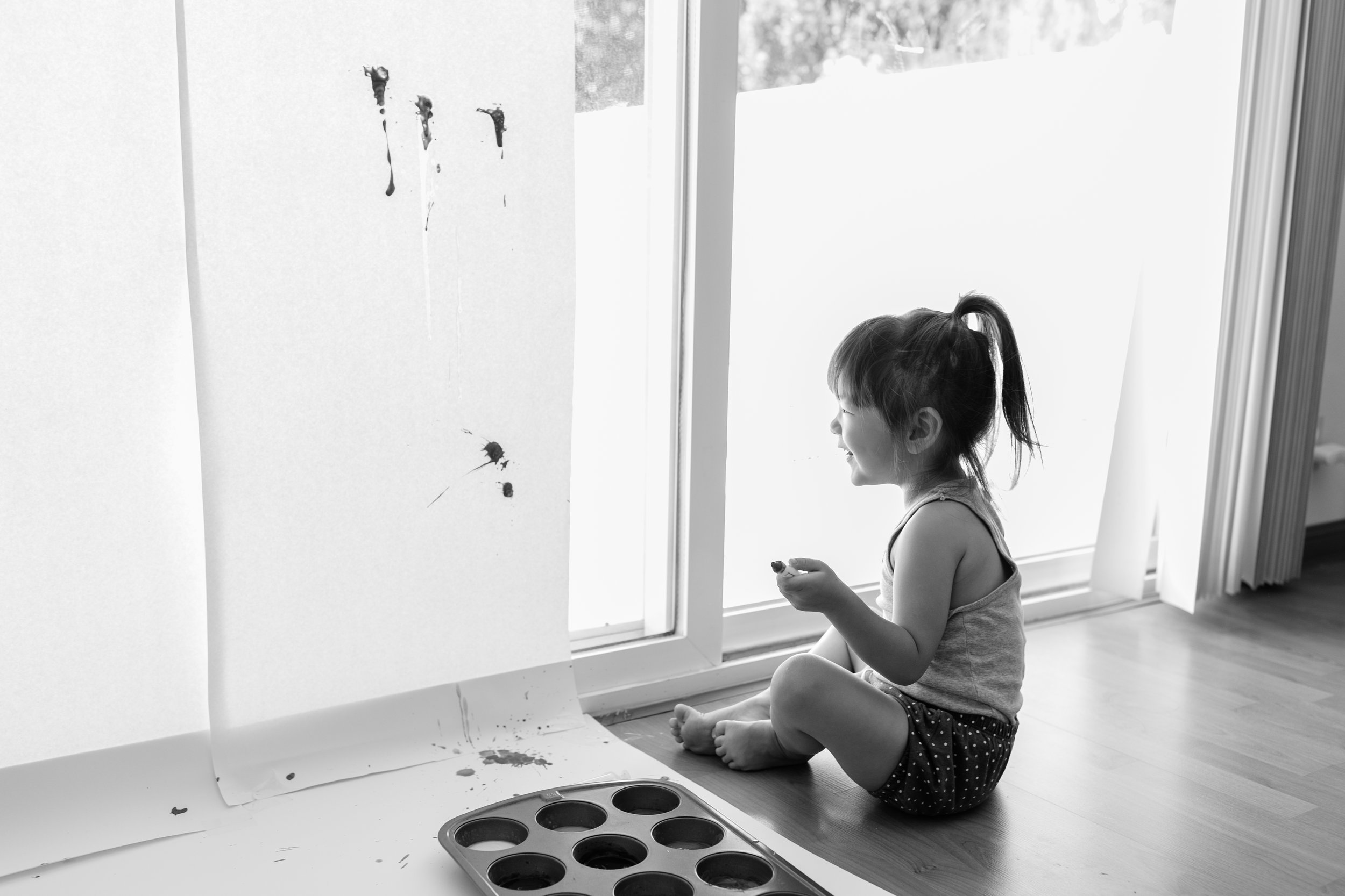 Syringe Painting for Toddler