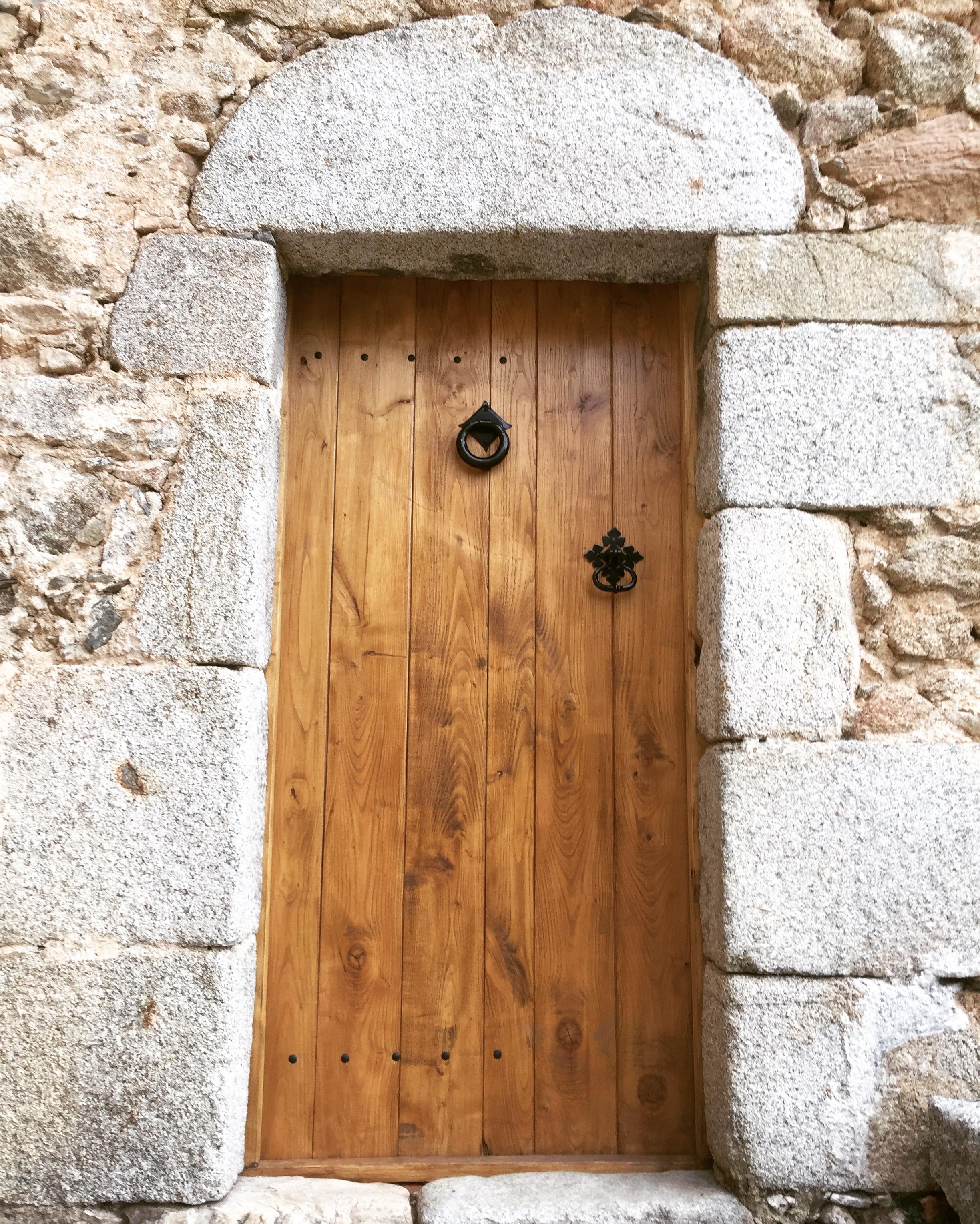 The front door at La Taillede