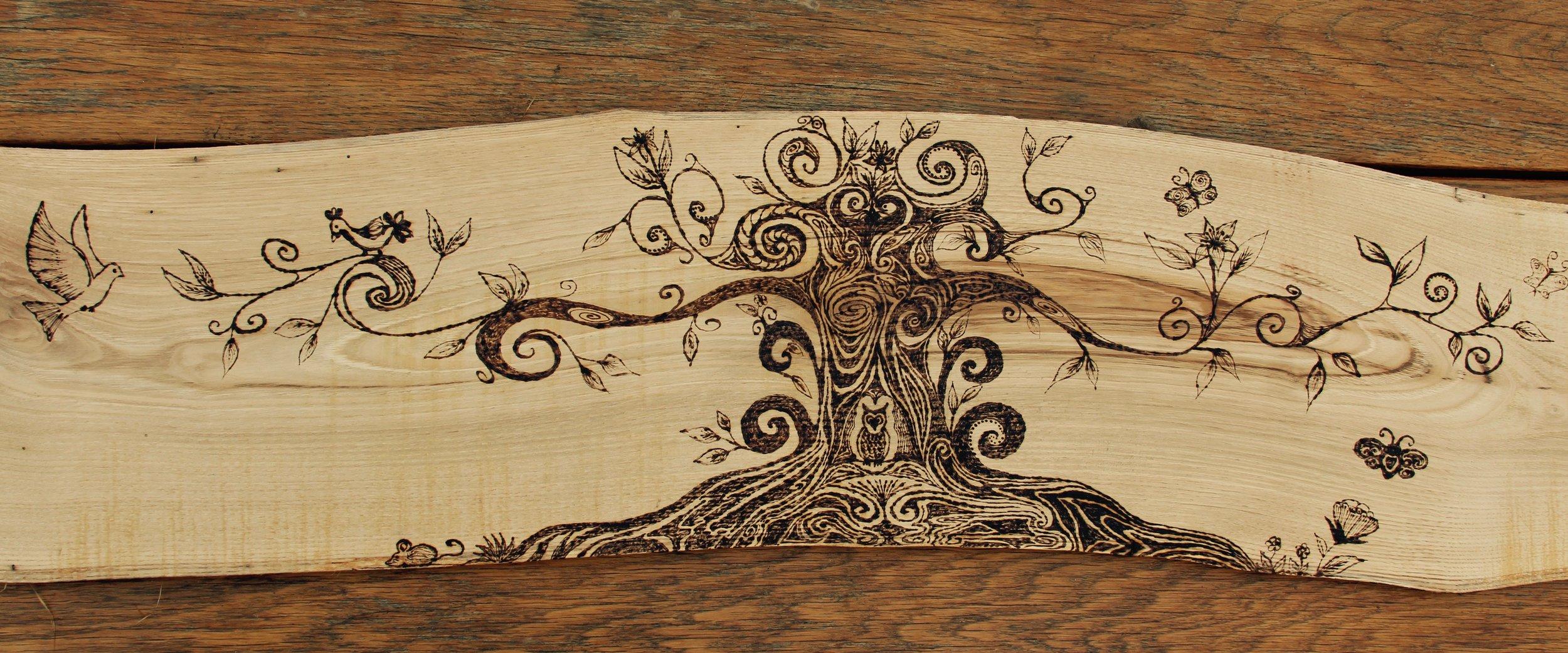 'Tree of Life' headboard design