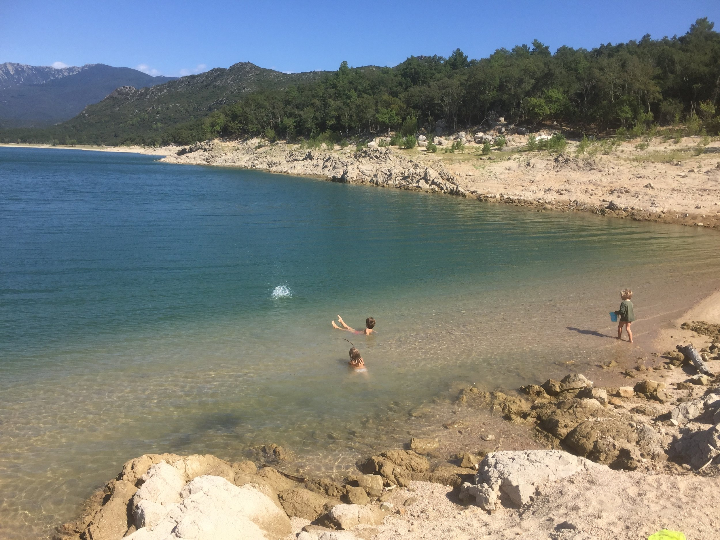 Lake in Darnius, Spain