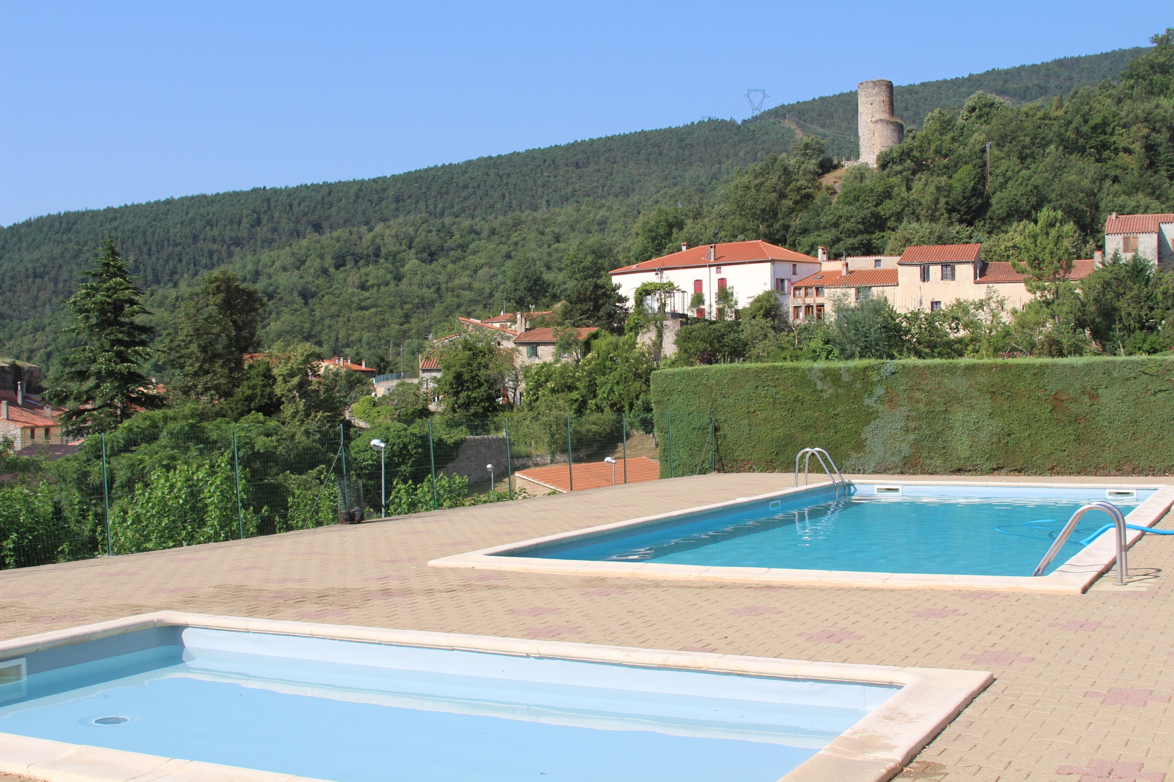 Local swimming pool @ Corsavy