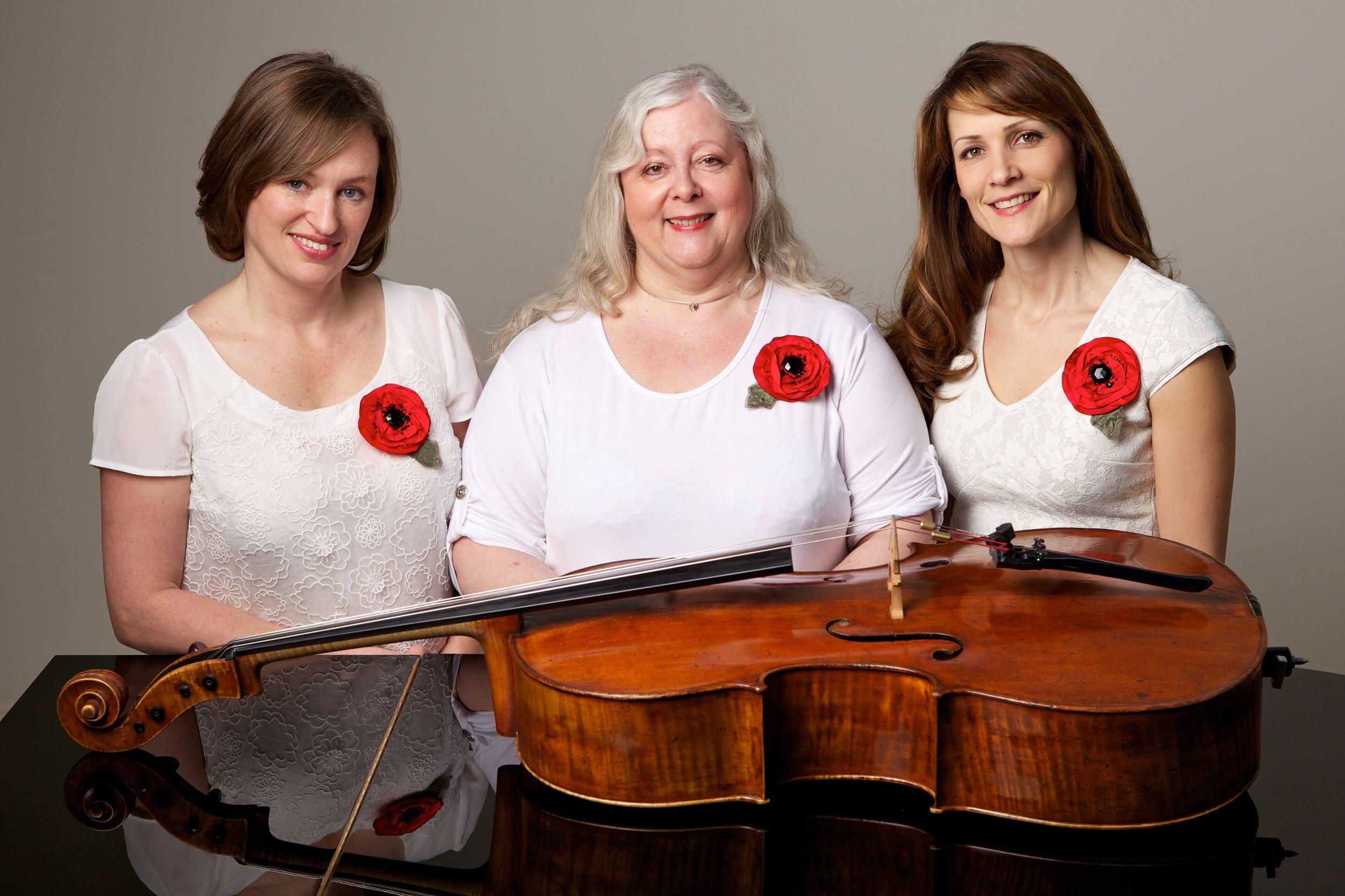 From left: Janine Smith, Corrine Frost, Helena Cavan.