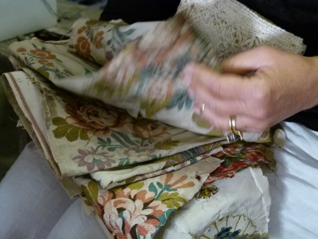 The French Muse experience antique textile brocante