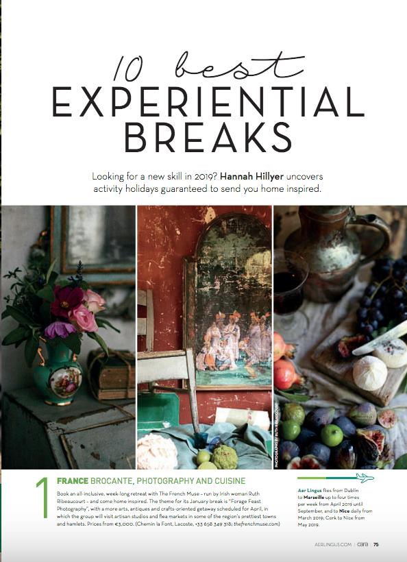 No. 1 in Cara Magazine's Top 10 Experiential Breaks Worldwide - Issue Dec 2018-Jan 2019