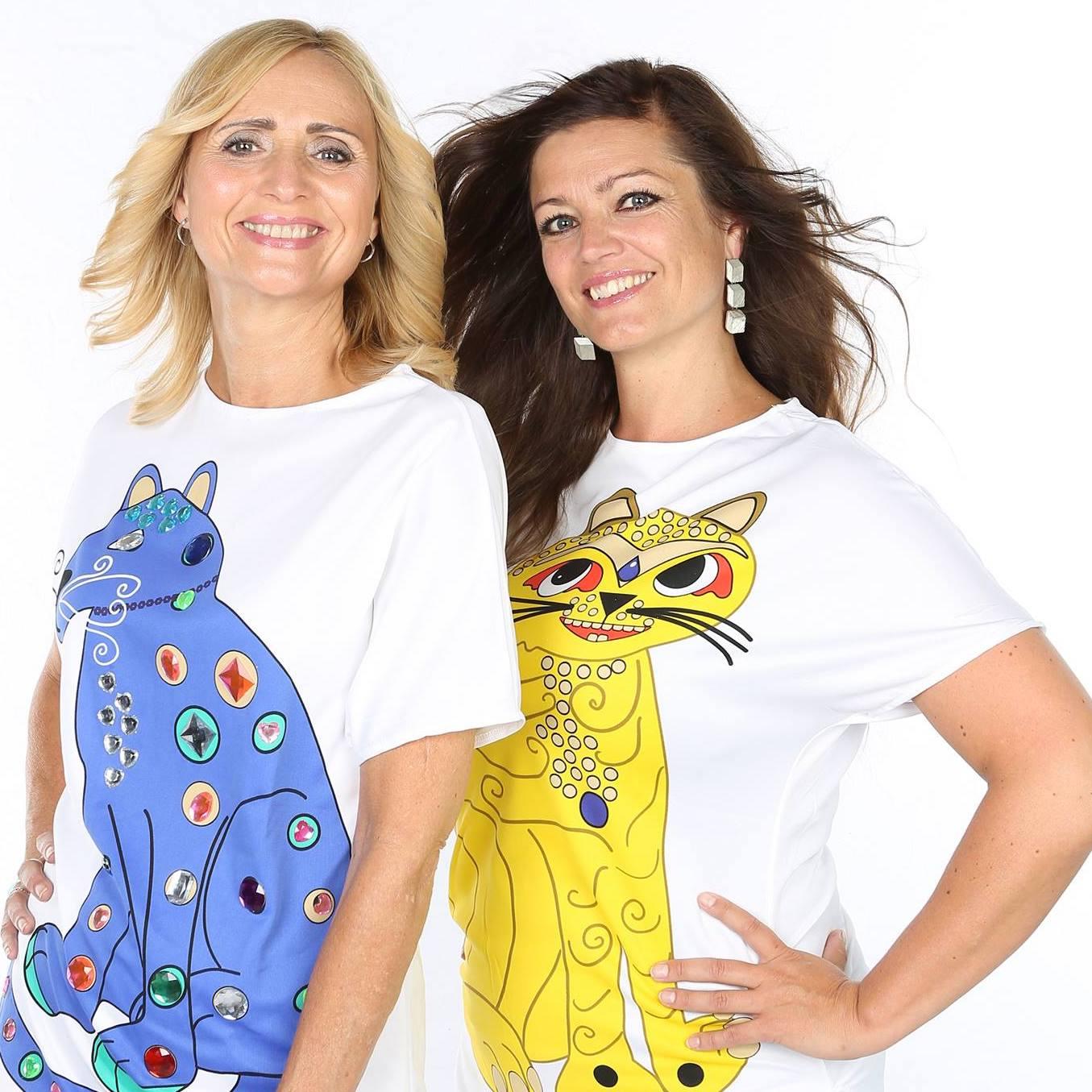 """Lise Harvik (N) og Mette Uhrnfeldt (fra """"Absolute ABBA"""")"""