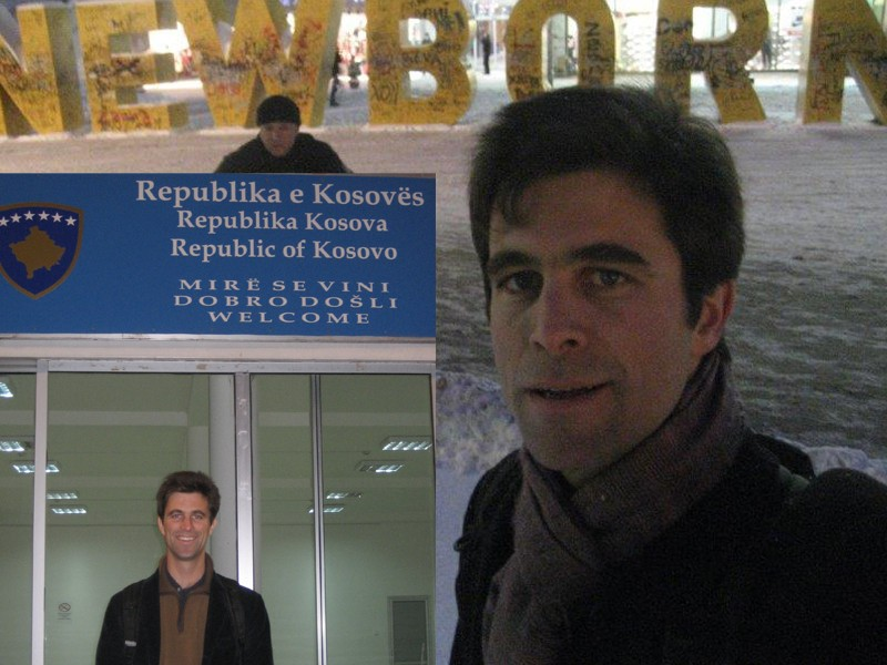2008 - 2010: deux années comme économiste de l'Union européenne à Pristina (Kosovo)