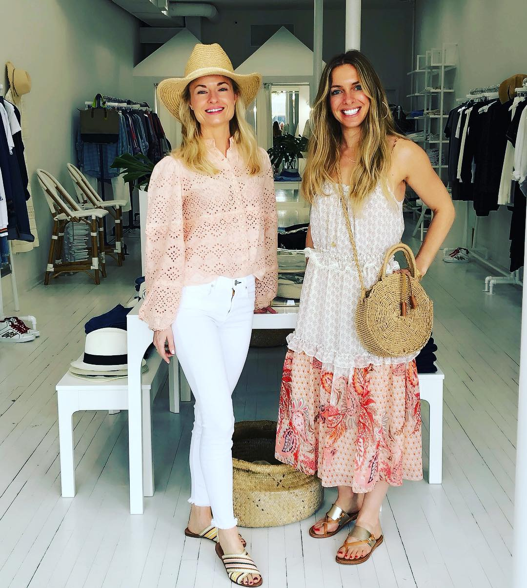 Nikki & Vanessa from Penfield Collective perfectly paired some of our spring styles with their spring picks from the store.