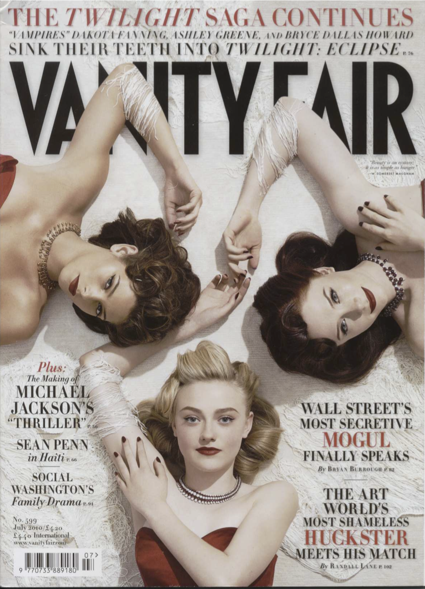 Vanity Fair   July, 2010  click here to download