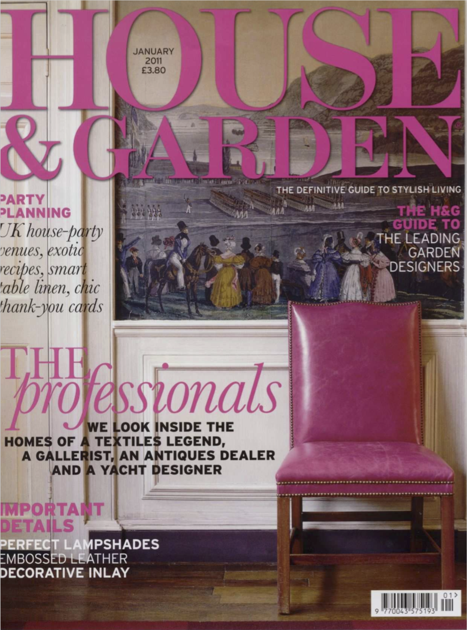 Town & Country   January, 2011  click here to download