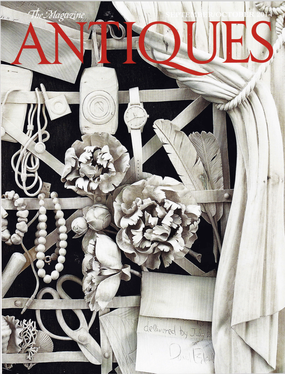 Antiques Magazine   September/October, 2014  click here to download