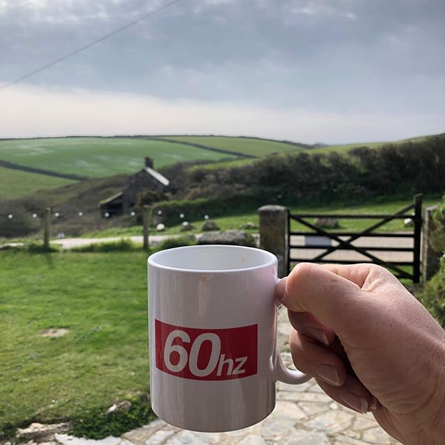 Tough day at the office! #goodmorning #60hzmusic #ukmusic #cornwall #kernow