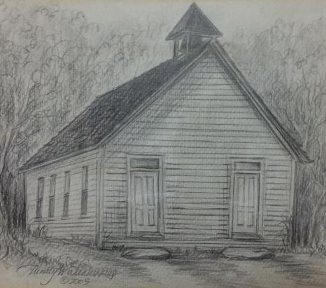 Bonner church house circa 1905