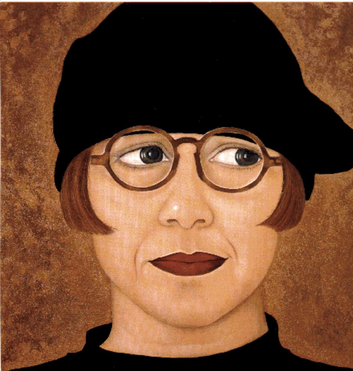 Self Portrait by Bente Christensen-Ernst
