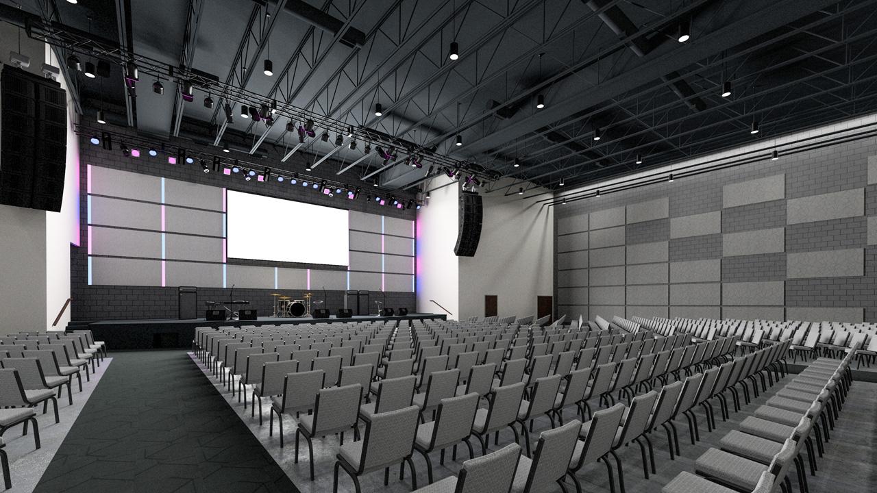 Auditorium (Lecture Style)