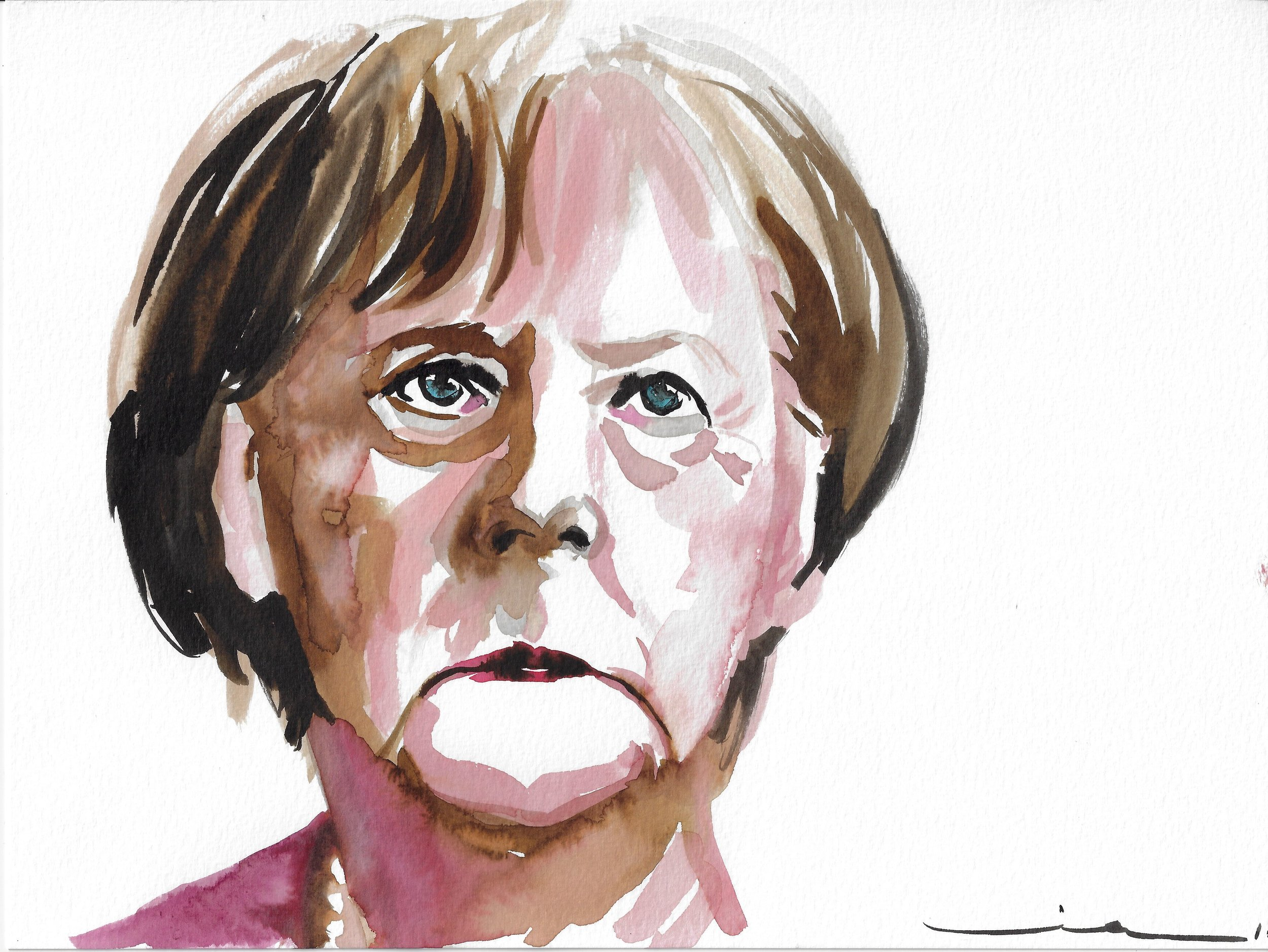 Angela Merkel, German politician and chanceler