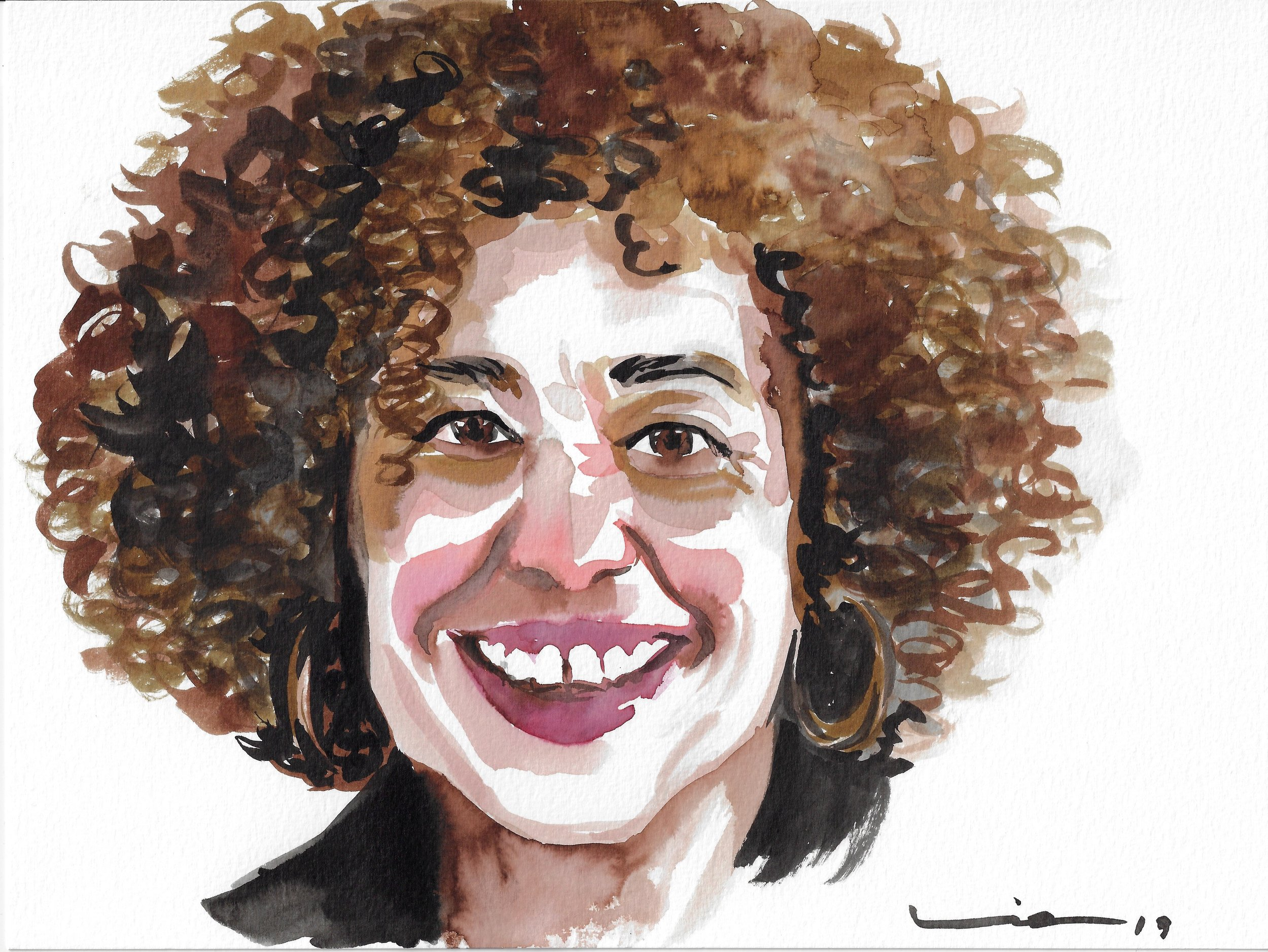 Angela Davis, thinker, Professor and activist