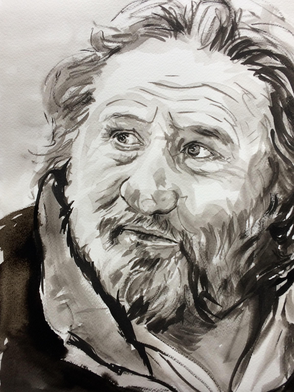 Gérard Depardieu, French actor.