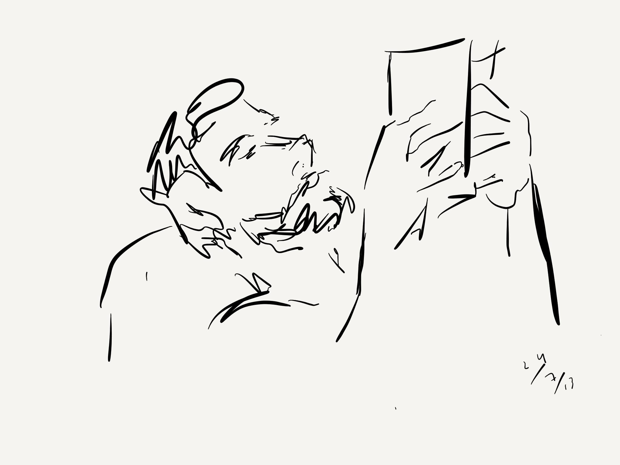 Vasco M. Barreto, reading