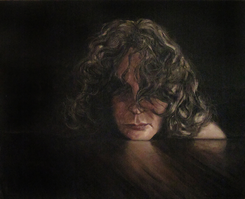 Posture / Postura, Oil on Canvas / Óleo Sobre Tela, 50x40cm