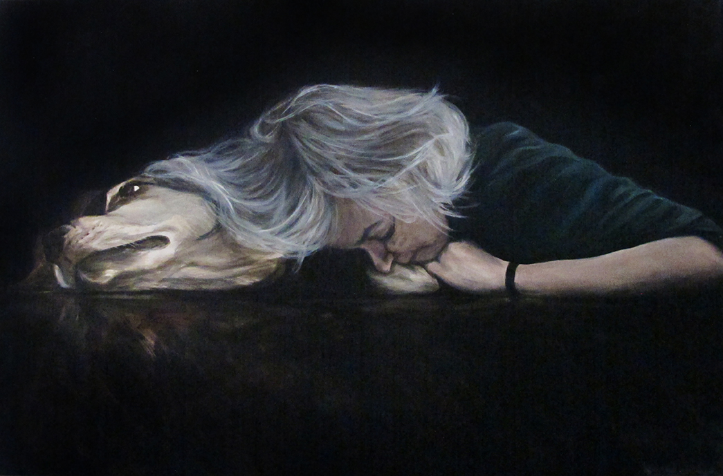Sorrow, Oil on Canvas / Óleo Sobre Tela, 90x60cm