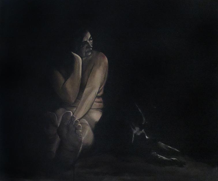 Jardim II - WIP, Oil on Canvas / Óleo Sobre Tela, 70x60cm