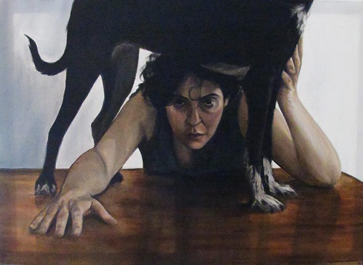Underdog, Oil on canvas / Óleo Sobre Tela, 70x50cm