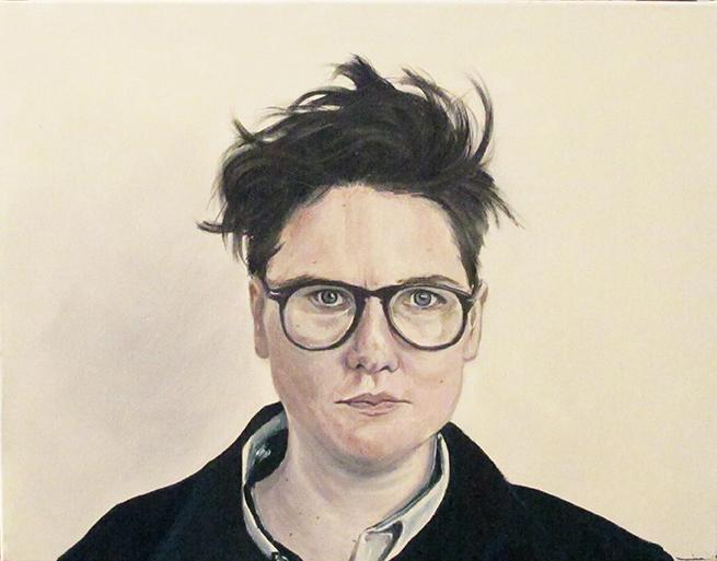 Hannah, Oil on Canvas / Óleo Sobre Tela, 45x35cm