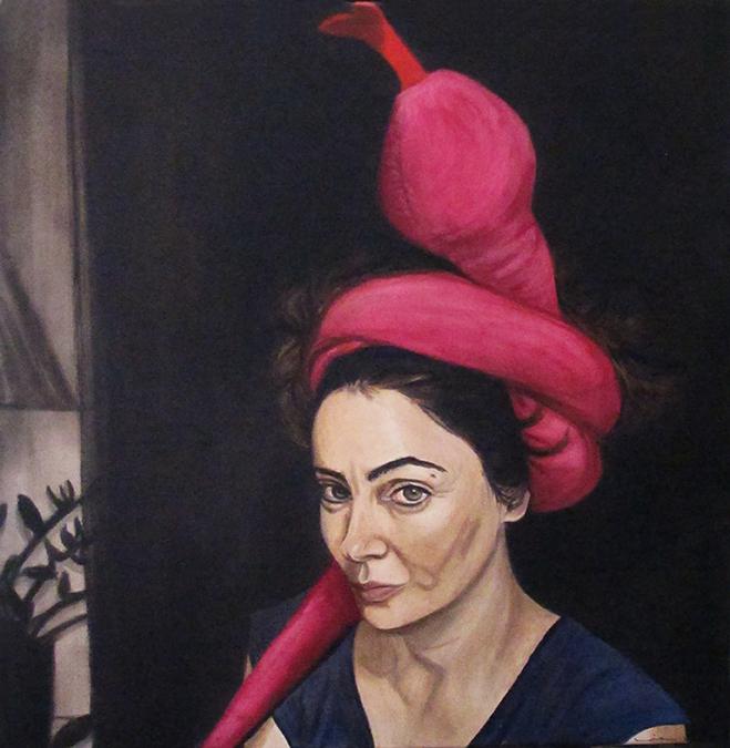 Cobra, Oil on Canvas / Óleo Sobre Acrílico Sobre Tela, 60x60cm