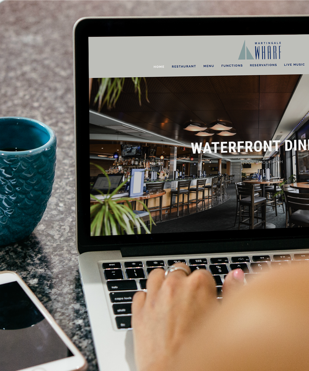 Ready for a web redesign? REP Branding Co. in Portsmouth, NH, can provide modern, responsive, branded web development for your business, big or small.