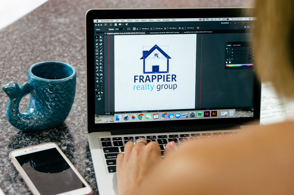 Graphic Design is available through REP Branding Co. in Portsmouth, NH, as part of your full-scale project.
