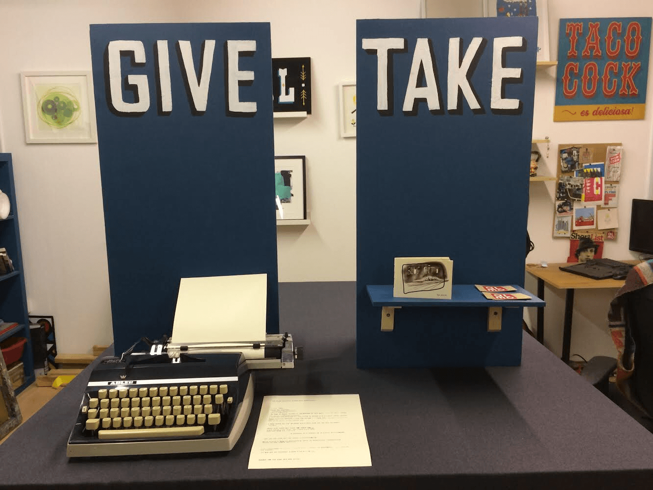 Give and Take - a Studio Almo Installation Piece | Photo courtesy of Left Lion