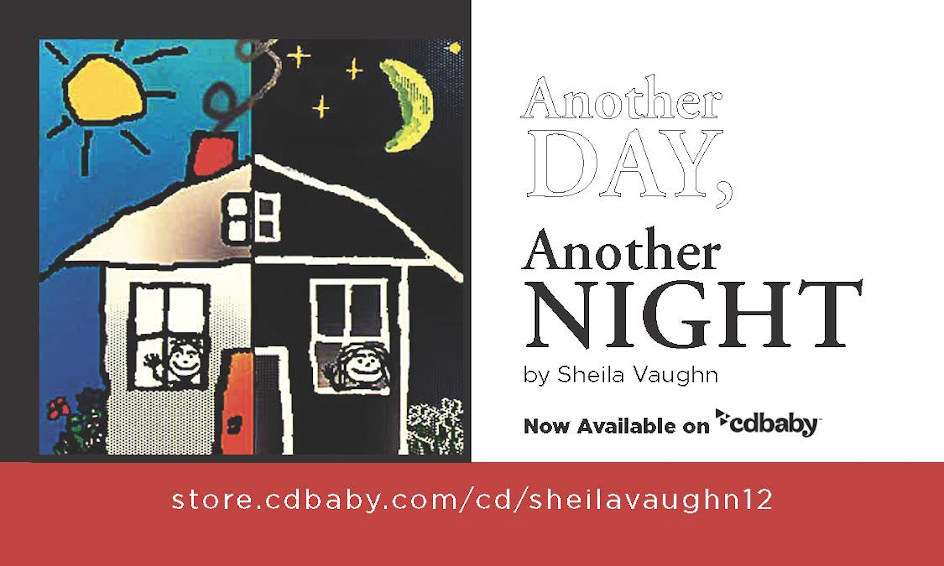 All songs written by Sheila Vaughn in collaboration with Alistair Farrant and Kevin Pickard