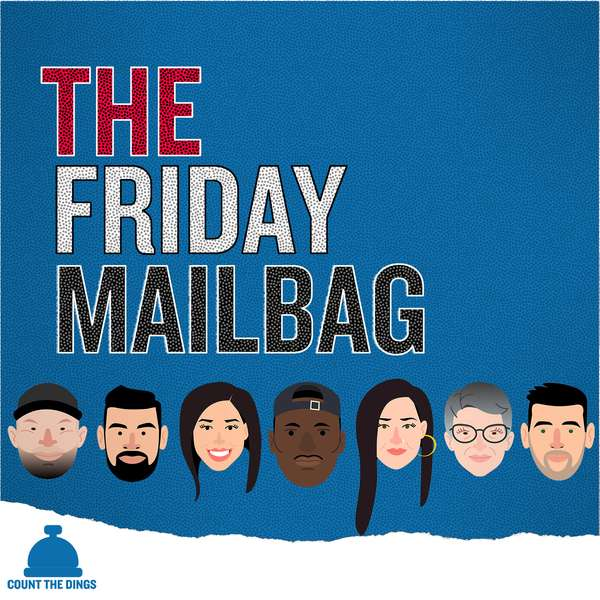 The Friday Mailbag - Fridays ⇢Listen ⇢iTunes ⇢Google PlayThe Friday Mailbag is either organized chaos or disorganized harmony, where at any moment the conversation could turn from inane hypothetical questions to deeply complex societal issues. Featuring a chorus of intelligent and passionate speakers but also overflowing with call backs, inside jokes and Zach Harper punnery. This is Jade's favorite show.