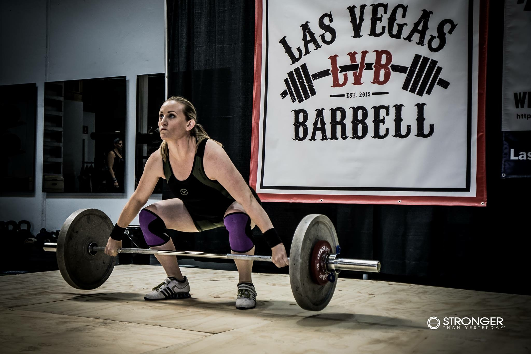 Lifting baby weight in my first local meet :)  Image © Crystal Kreutz 2017, Stronger Than Yesterday, https://www.strongerthanyesterday.com/