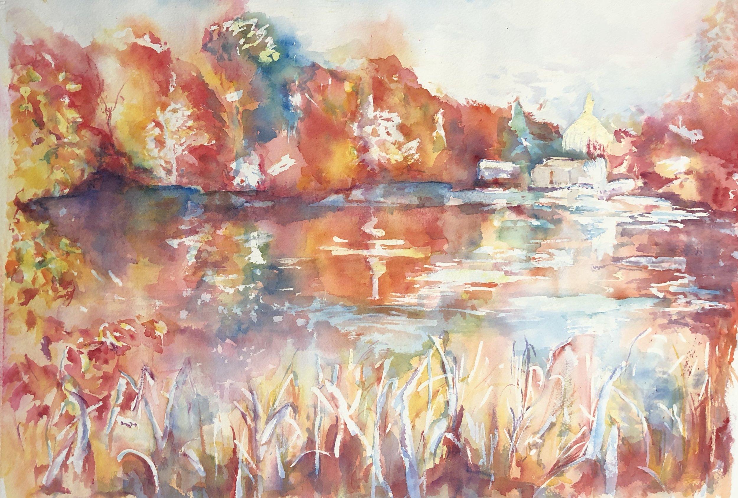 Lake Side Reflections of Fall Foliage.jpg