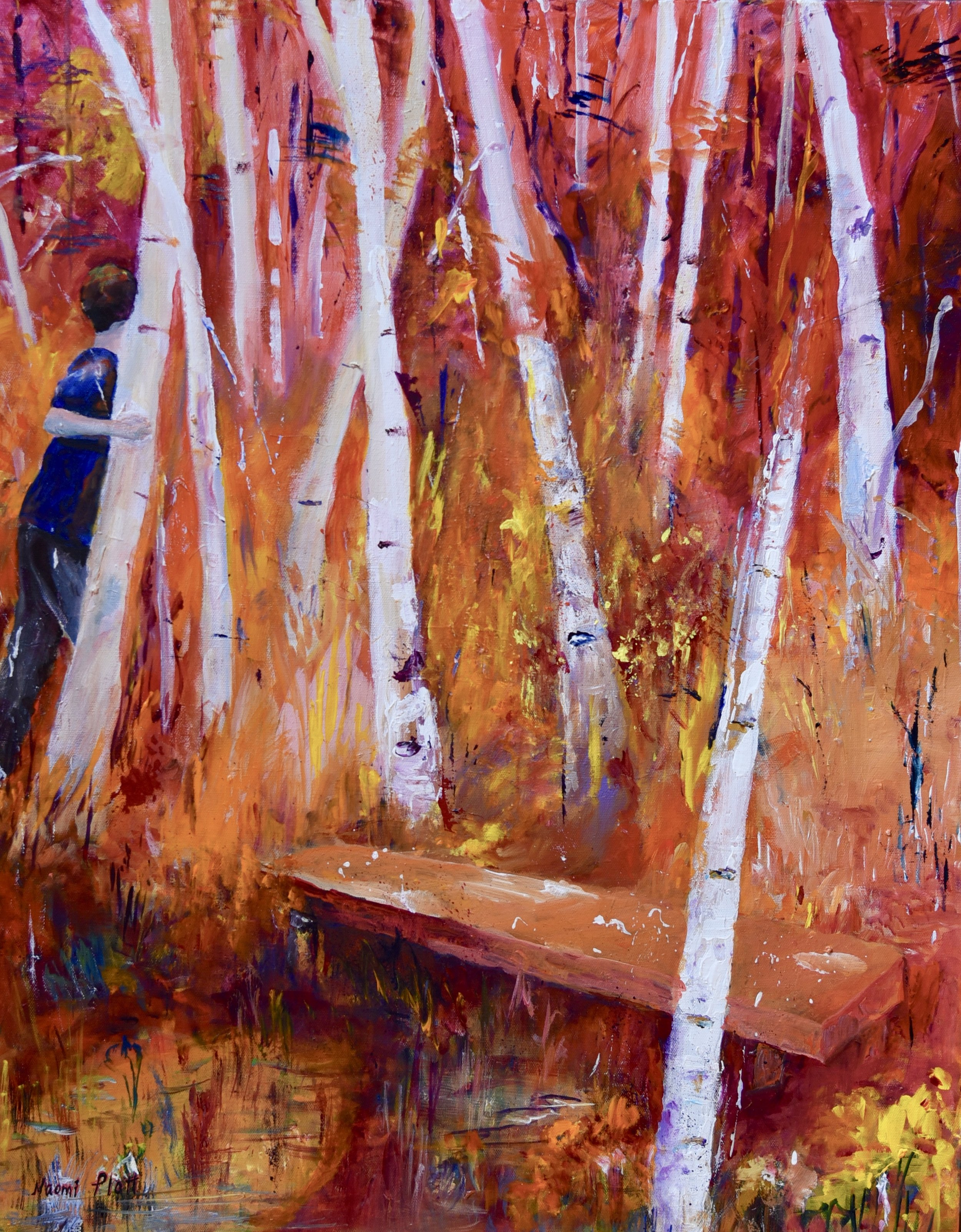 Lost in the forest of Autumn 30x24 750_.jpg