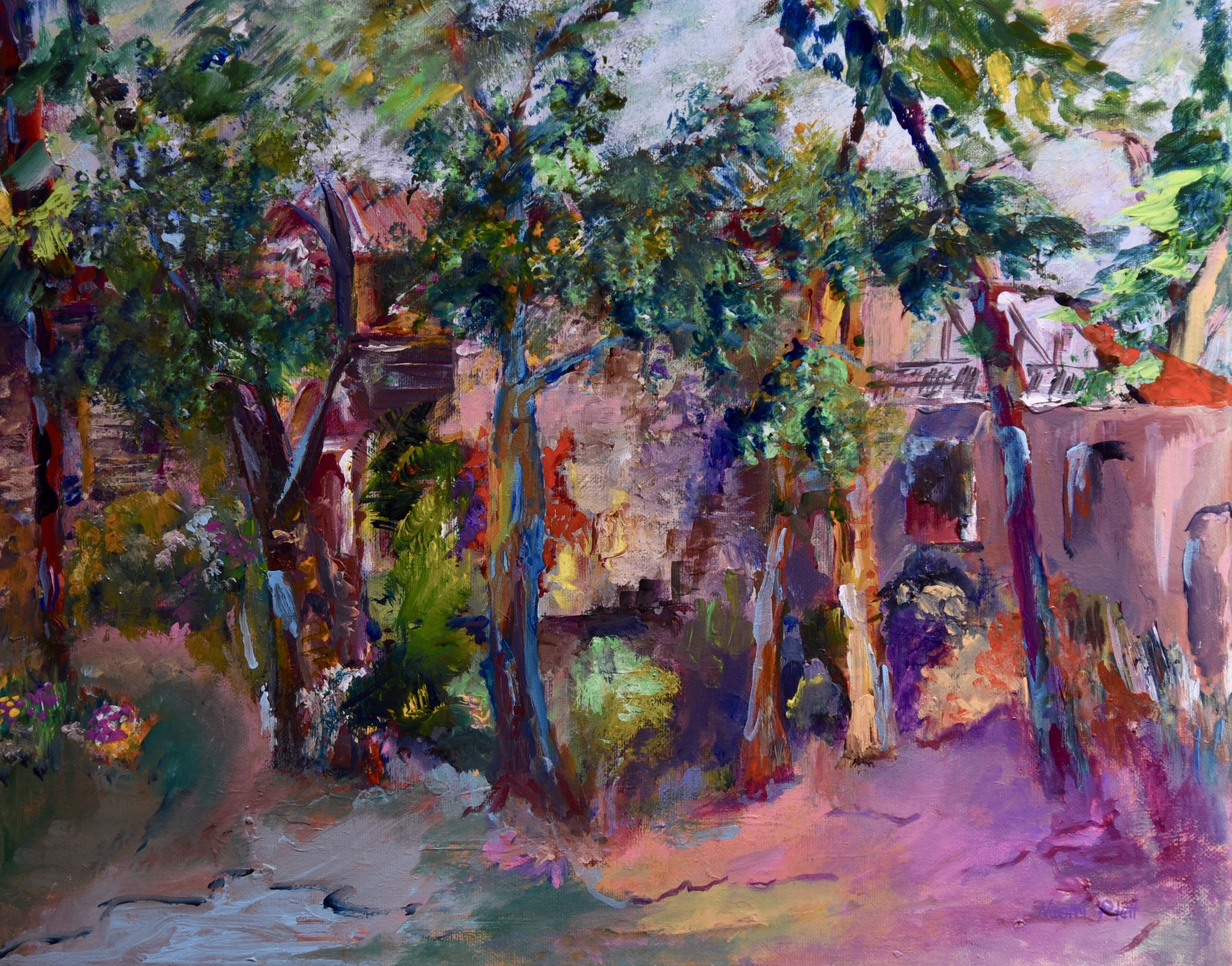 The House Behind the Trees_20x16_250.jpg