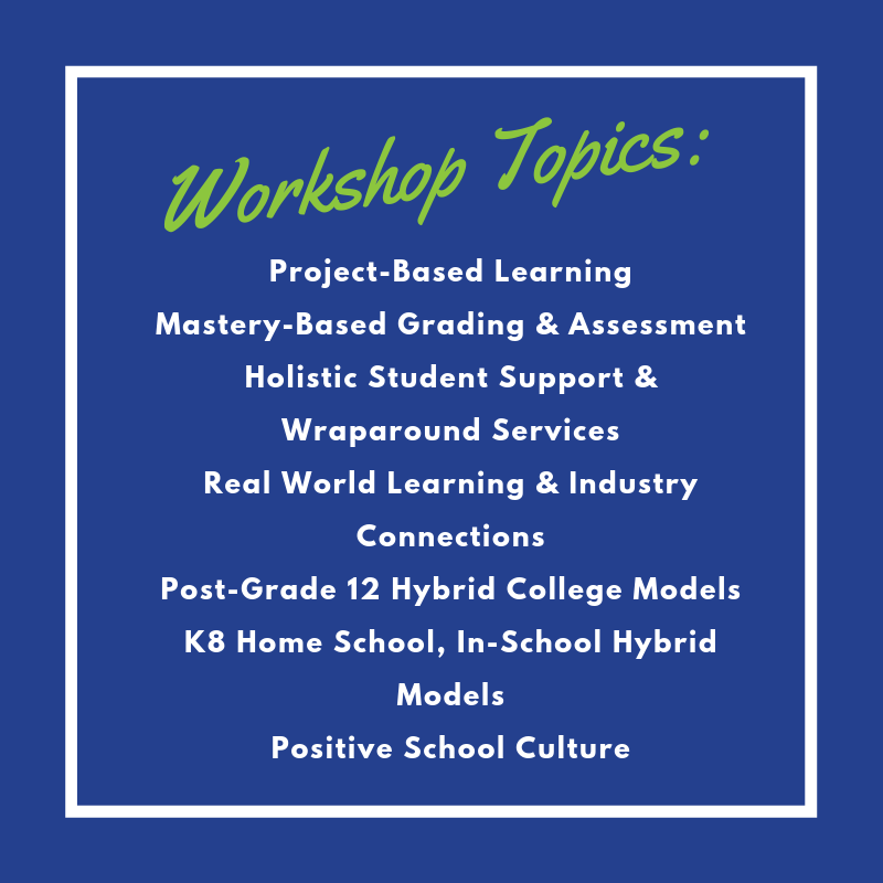 Conference workshop topics