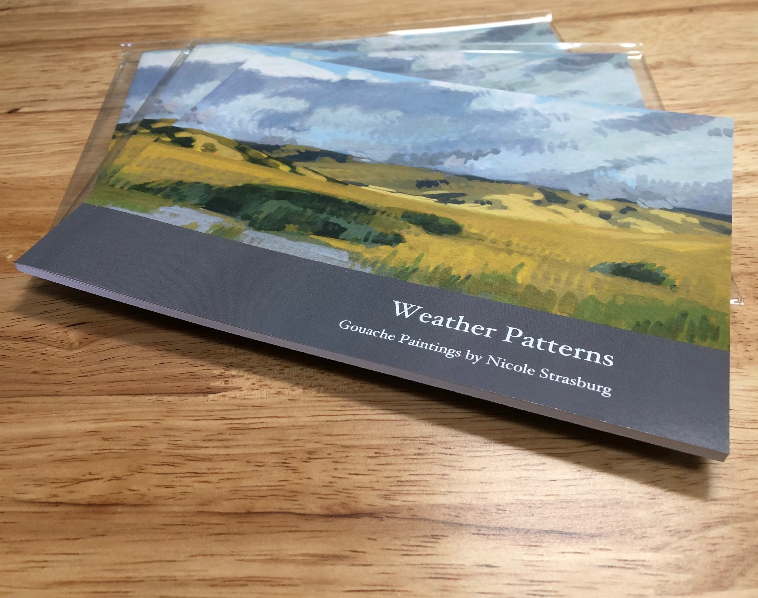 Weather Patterns soft cover book