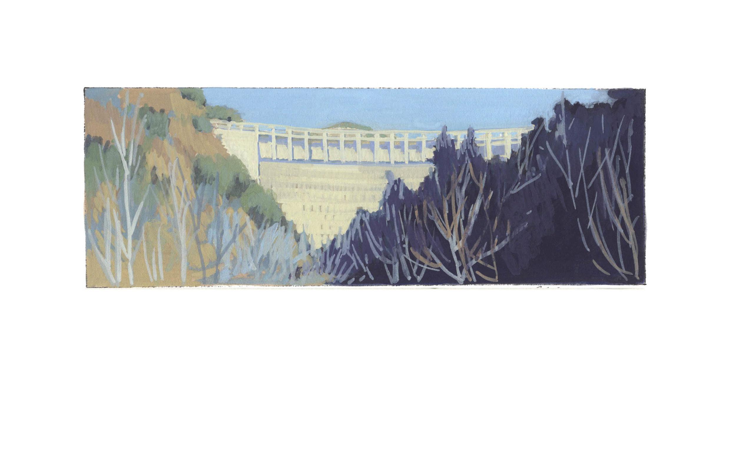Juncal Dam