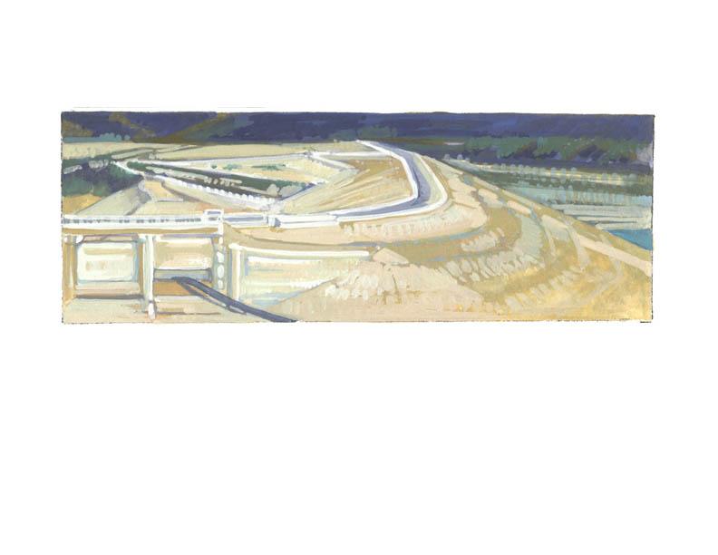 Bradbury Dam, November 2016