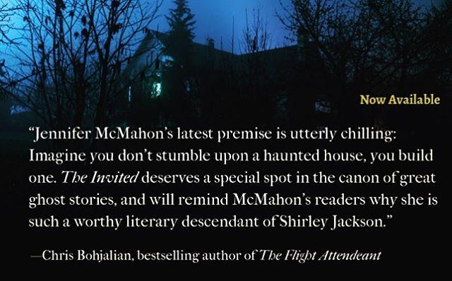 The Invited by Jennifer McMahon - #BOOKREVIEW #NEWRELEASE #AMREADING https://www.proseoflife.com/mostpopular/2019/4/25/the-invited-by-jennifer-mcmahon-bookreview-newrelease-amreading @jennifermcmahonwrites