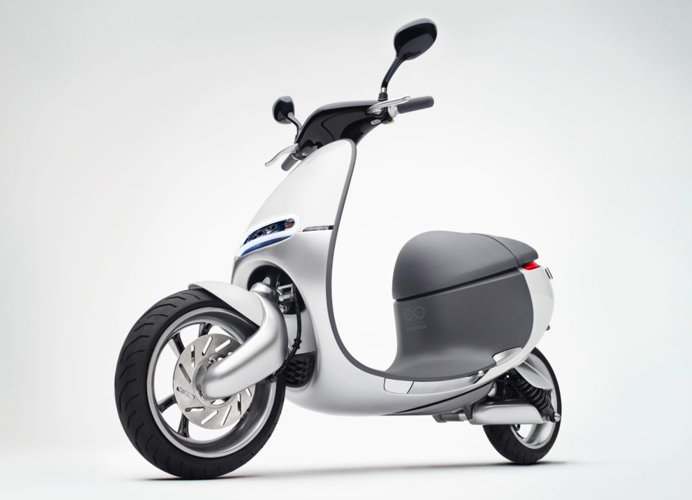 Mercedes e-scooter