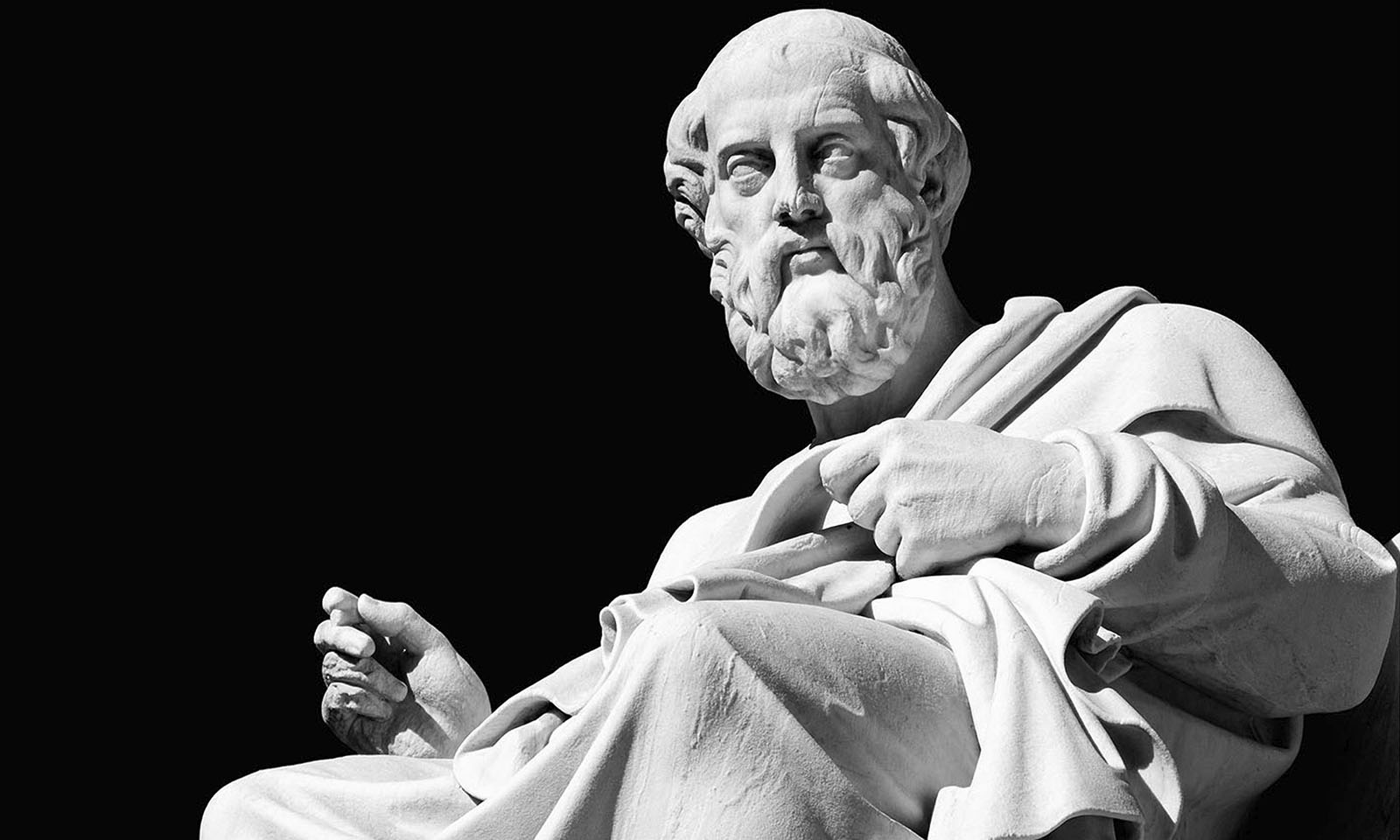 Aristotle: man of more words.
