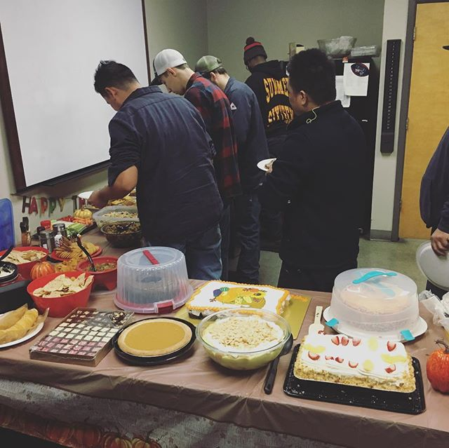 We had an early Thanksgiving celebration with our Pearland team today. #HappyThanksgiving #CapRockOilTools